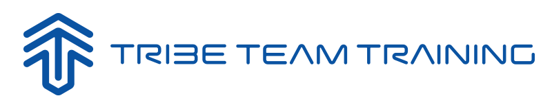 Tribe Team Training Logo Blue