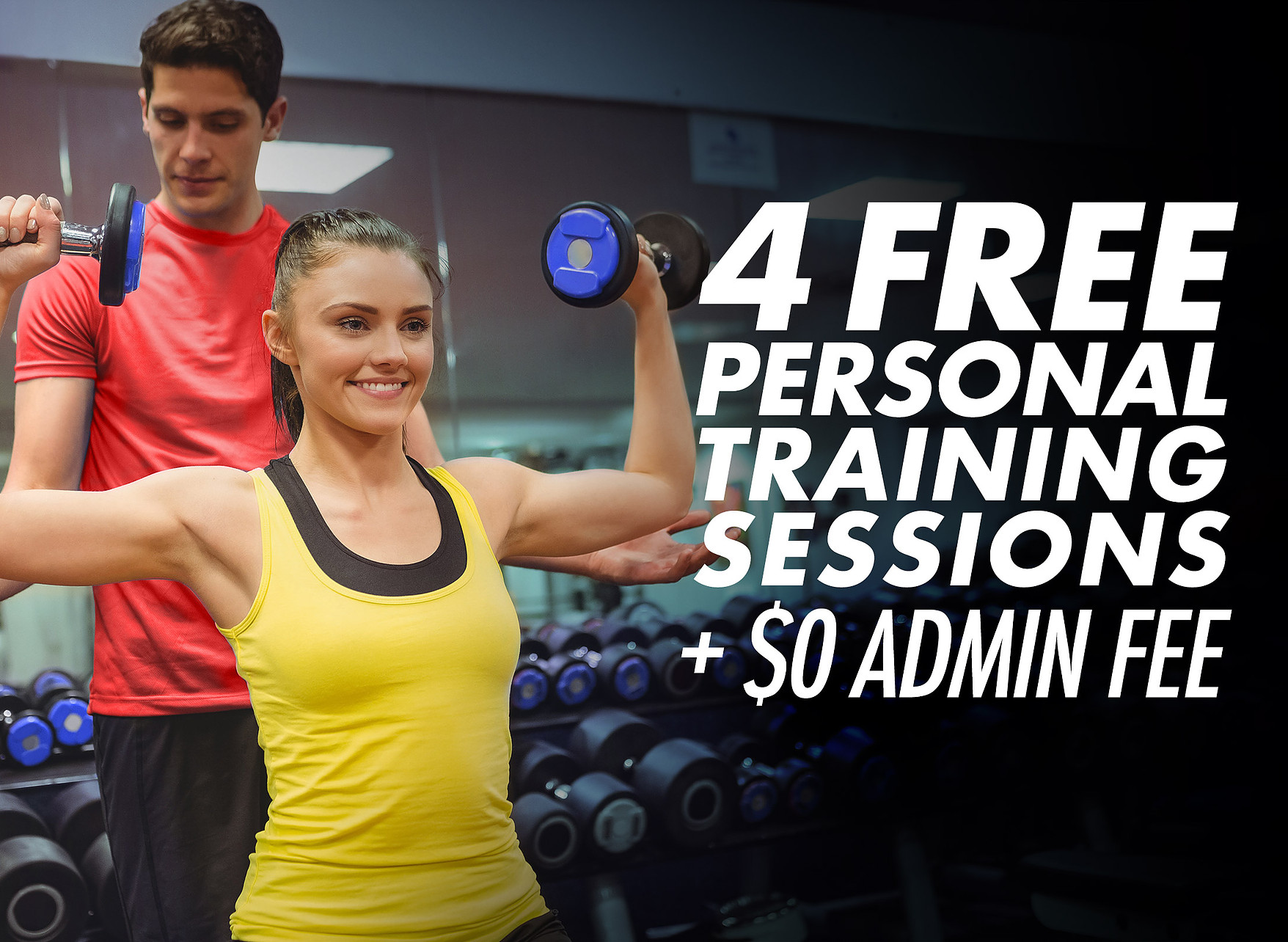 4 free personal trainer sessions around the clock fitness